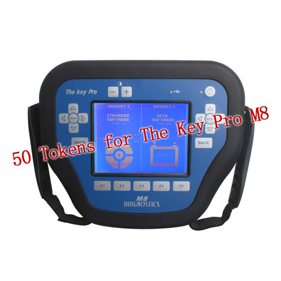 50 Tokens for MVP Key Pro M8 Auto Key Programmer MVP Pro Tokens