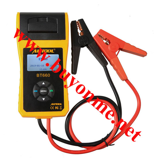 AUTOOL BT660 Battery Analyzer BT-660 Car Battery Tester