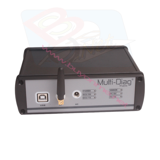 WAS Multi-Diag Truck Diagnostic Tool Multi Di@g BluetoothScanner