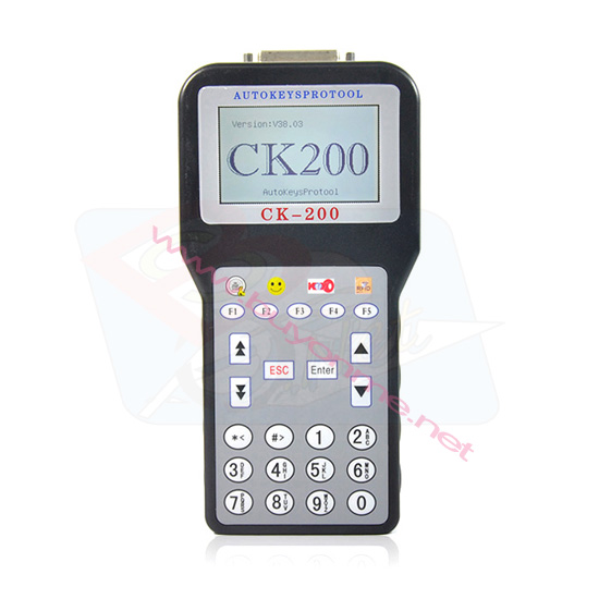 CK-200 V38.03 CK200 Auto Key Programmer CK100 Update Version