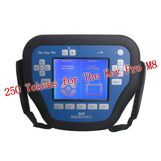 250 Tokens for MVP Pro M8 Key Programmer The Key Pro M8 Tokens