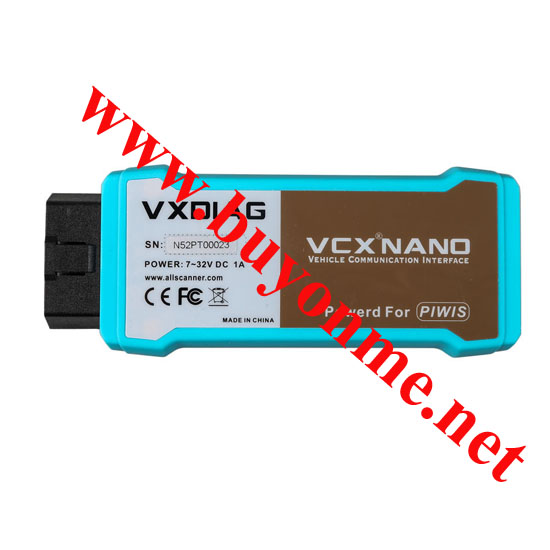 VXDIAG VCX NANO for Porsche Piwis Tester V17.5 With Win10 Tablet