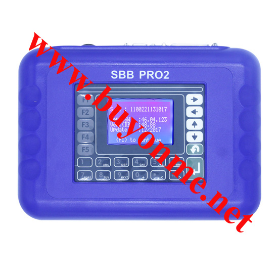 SBB PRO2 Key Programmer SBB V48.88 Supported Cars until 2017.12