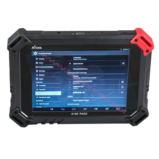 Xtool X-100 PAD2 Key Programmer X100 PAD2 Special Function