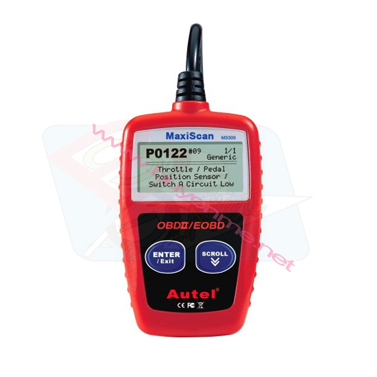 Autel CAN OBDII Code Reader MaxiScan MS309 EN/SP/FR/G/Dutch