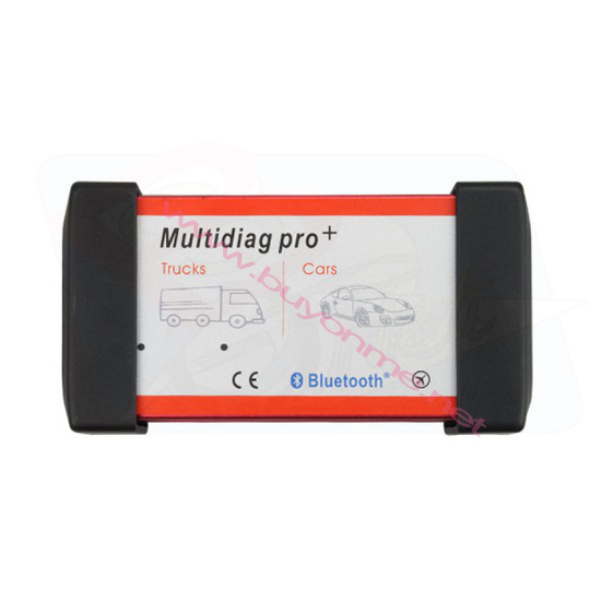 Bluetooth Multidiag Pro+ Cars/Trucks with 4G TF Card&Car Cables