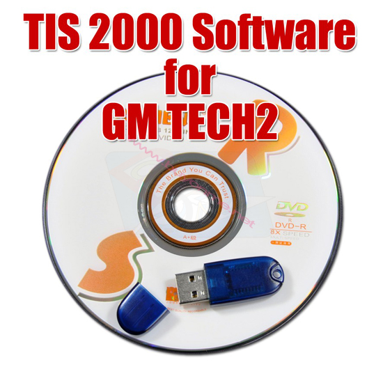 Tis2000 software with Dongle for GM Tech2 GM Diagnostic